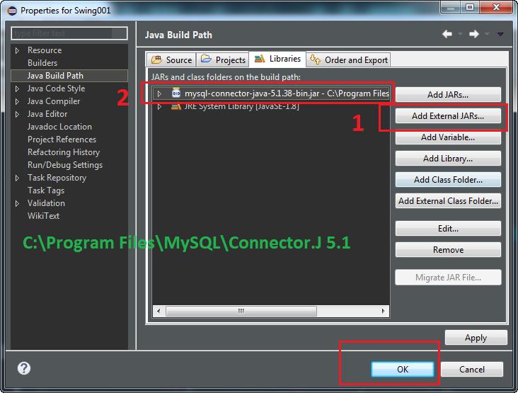 Upload images blob in mysql Java swing Eclipse Insert update