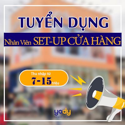 YODY Đà Nẵng tuyển dụng 2020