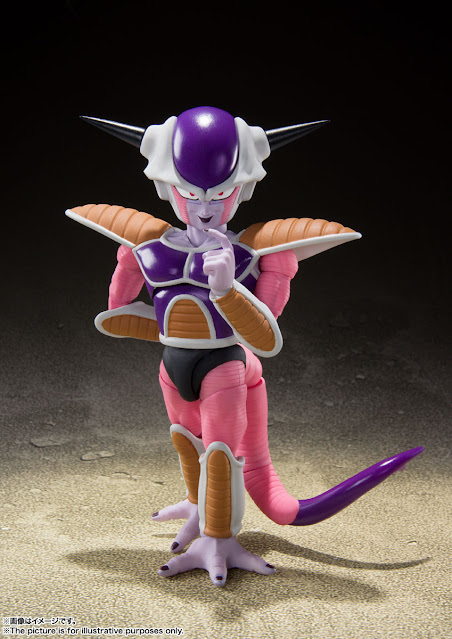 S.H.Figuarts Frieza 1st form de Dragon Ball Z - Tamashii Nations