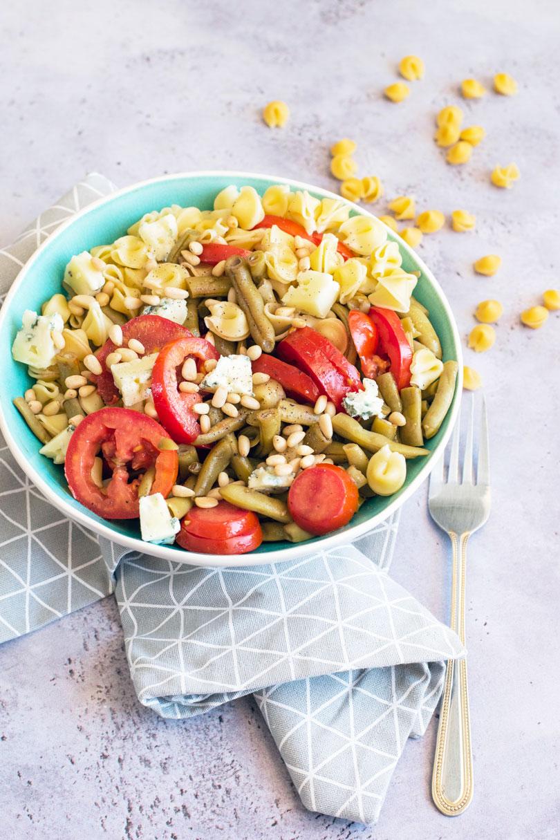 recette Salade de pâtes et haricots verts