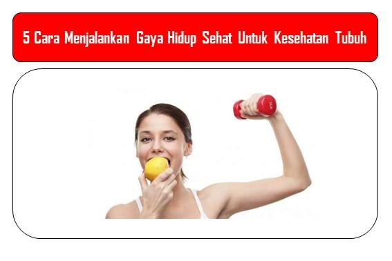 5 Gaya Hidup Sehat