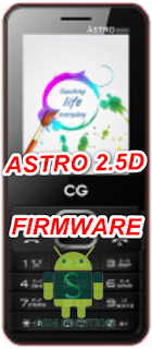 CG Astro 2.5D Stock Rom/Firmware/Flash file Download