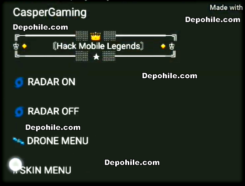 Mobile Legends Script Rootsuz Radar - Drone Hilesi ByCasper