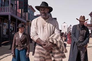 Idris Elba as a cowboy