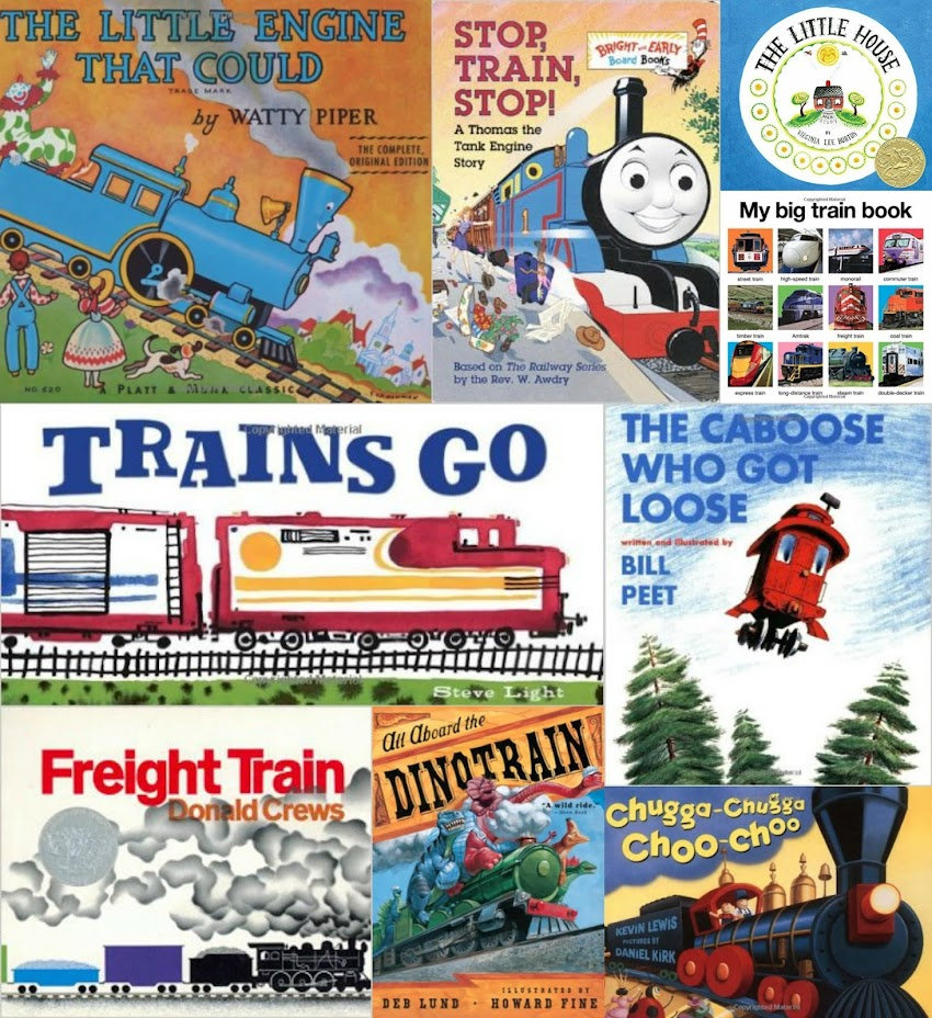 Books for Your Train Loving 2-3 Year Old
