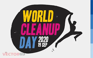 Logo World Cleanup Day (WCD) 2020 - Download Vector File EPS (Encapsulated PostScript)