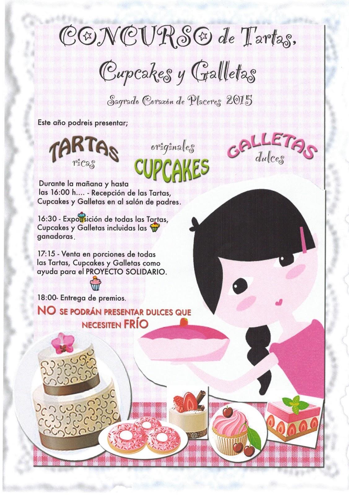 Concurso tartas, cupcakes y galletas