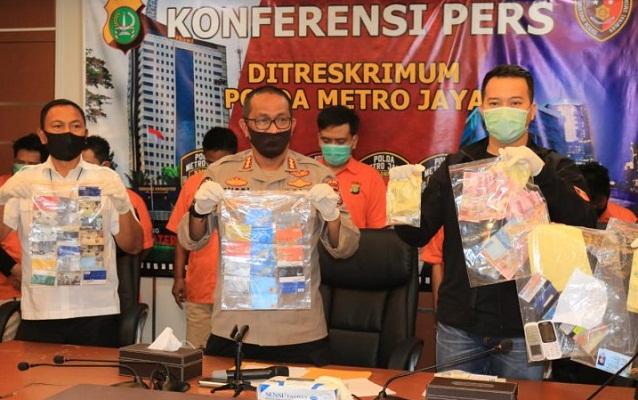 8 Pelaku Sindikat Ganjal ATM Dari Lampung Diringkus Polisi