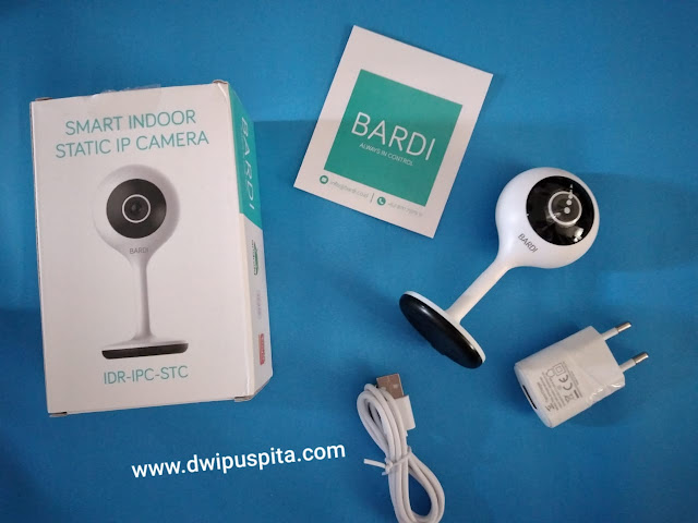 Smart indoor camera bardi
