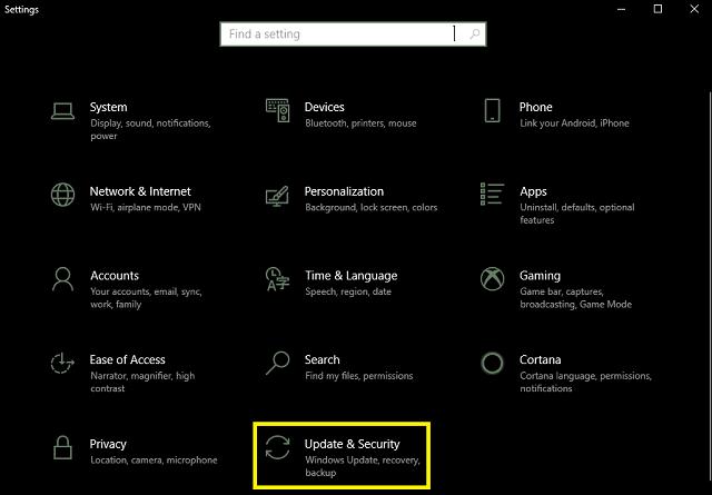 كيفية تعطيل اعادة التشغيل التلقائي في ويندوز 10