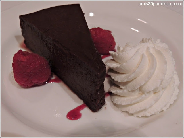 The Capital Grille Burlington: Flourless Chocolate Espresso Cake