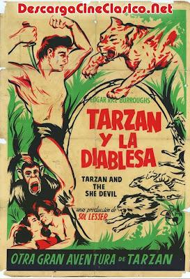 Tarzán y la mujer diablo (1953) Descargar y ver Online Gratis