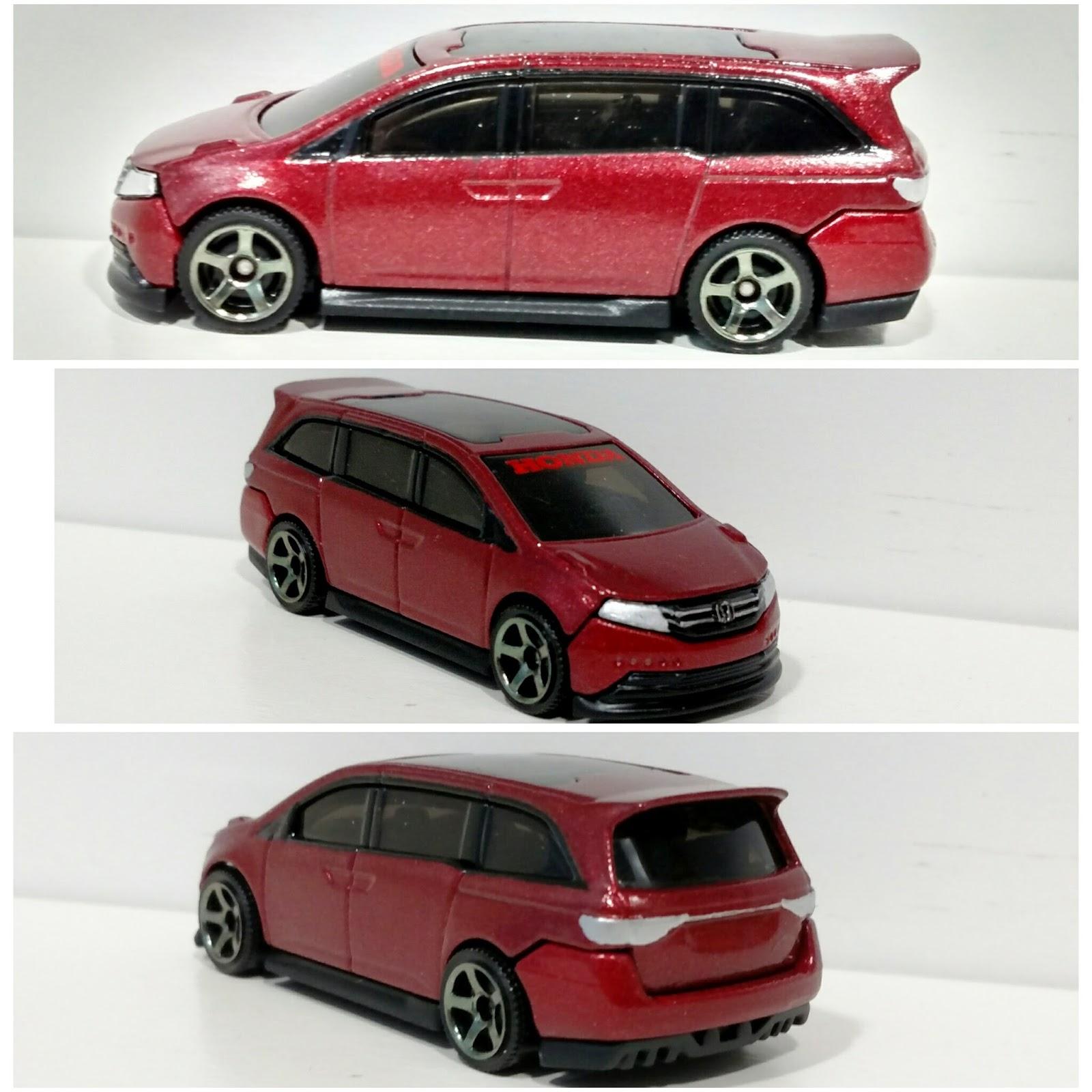 3inchDiecastBliss Custom Hotwheels Honda Odyssey