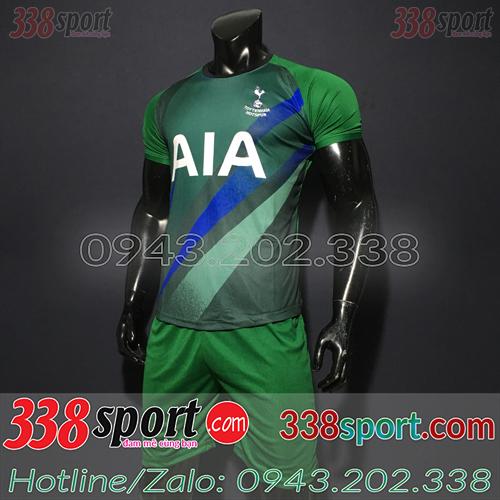 Áo Câu Lạc Bộ Tottenham 2020 Training 7 Màu Xanh Lá