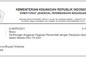 Surat Kejelasan Alokasi Gaji Guru PPPK dari Kementerian Keuangan