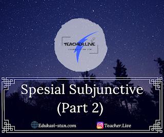 Special Subjunctive