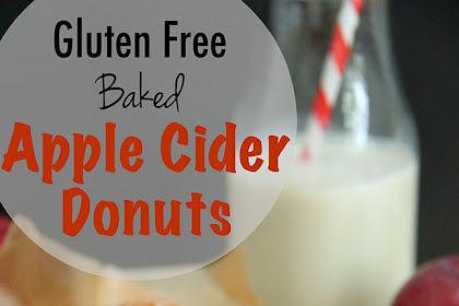 Gluten Free Baked Apple Cider Donut Recipe