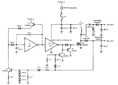 switching inverter for 12v systems circuit diagram