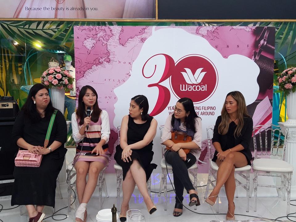Philippine Wacoal Women of the World Exhibit at SM Makati