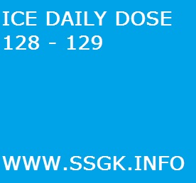 ICE DAILY DOSE 128 - 129
