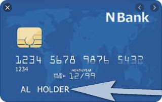 Add money to use Bank Debit card holder name.