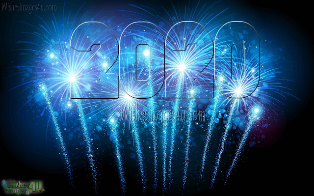 Happy New Year 2020 HD Firework Wallpapers Download Free