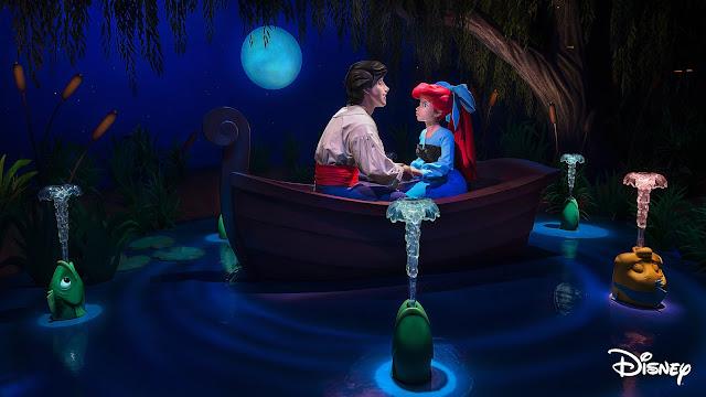 Disney Magic Moments, Ride & Learn, The Little Mermaid ~ Ariel's Undersea Adventure, Disneyland Resort, DCA, Disney Parks, 迪士尼加州冒險樂園, Disney California Adventure