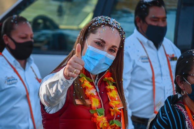 DEBEMOS LUCHAR POR EL FUTURO DE NUESTRA TIERRA: ADRIANA MÉNDEZ