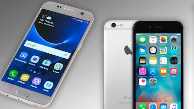 Samsung Galaxy S7 vs iphone 6