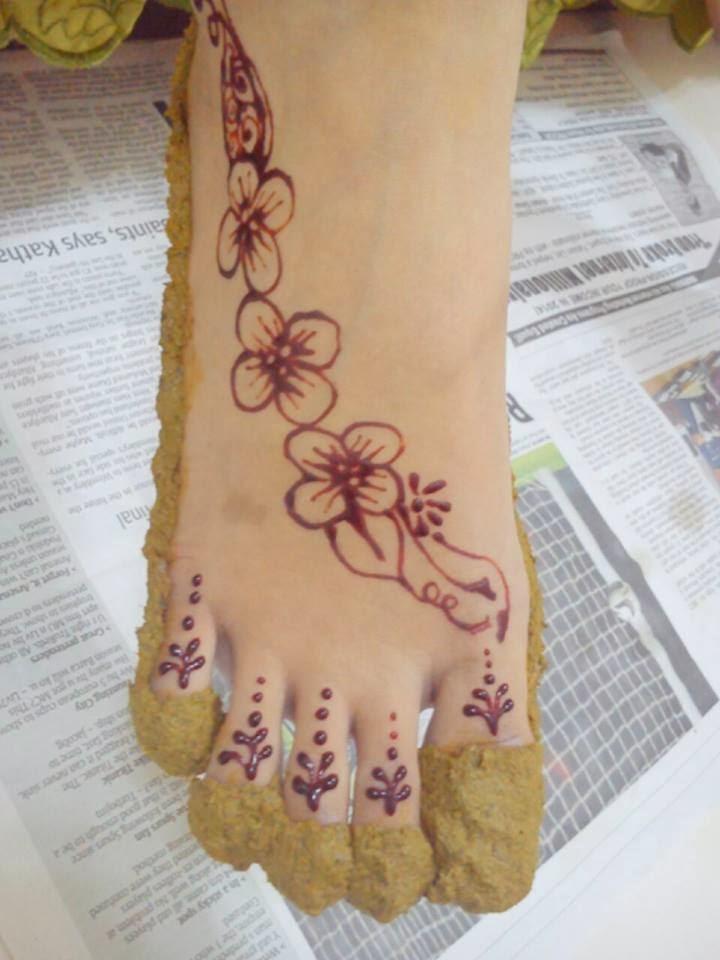Henna Designs Kaki Makedes Henna Untuk Kaki Makedes Henna Kaki