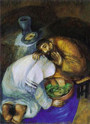 Resultado de imagen de lavatorio de los pies jesús