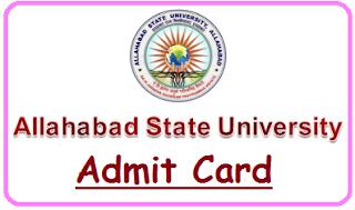 ASU Allahabad Admit Card 2020