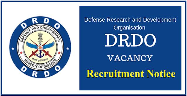 DRDO Scientist B Recruitment 2020