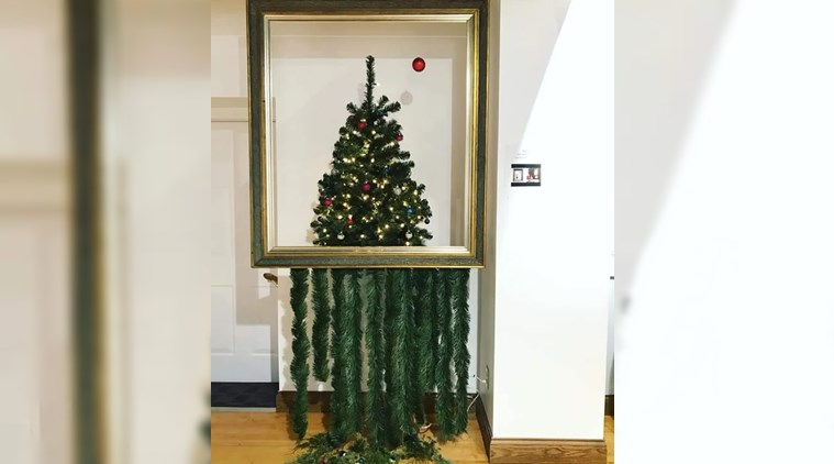 Photo Of A 'Shredded' Christmas Tree Is Going Viral