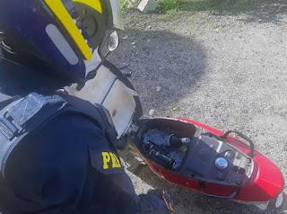 Motociclista é flagrado pela PRF na Paraíba dirigindo embriago