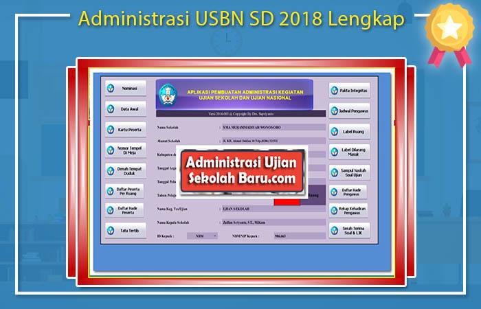 Administrasi Guru Untuk Kegiatan USBN