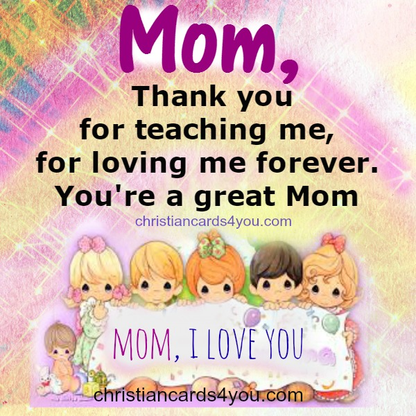 thank you sweet quote for mother mothers day thank you quotes