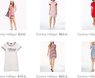 Designer Slip-On - Shirt Dress - Sale
