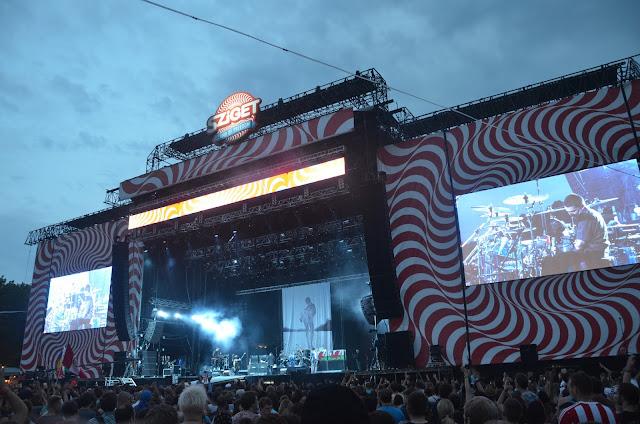 Sziget Festival a Budapest
