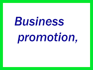 Business promotion,
