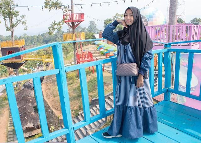 Tempat Foto Keren di Alam Puncak Mas Lampung