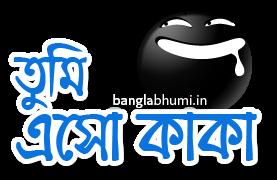Tumi Eso Kaka Bengali Funny Comment Sticker