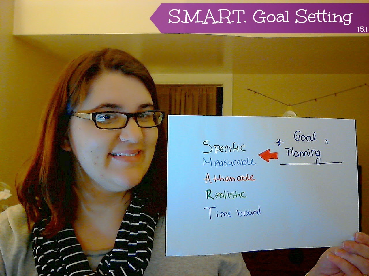 The Nifty Thrifty Lady S M A R T Goal Planning For