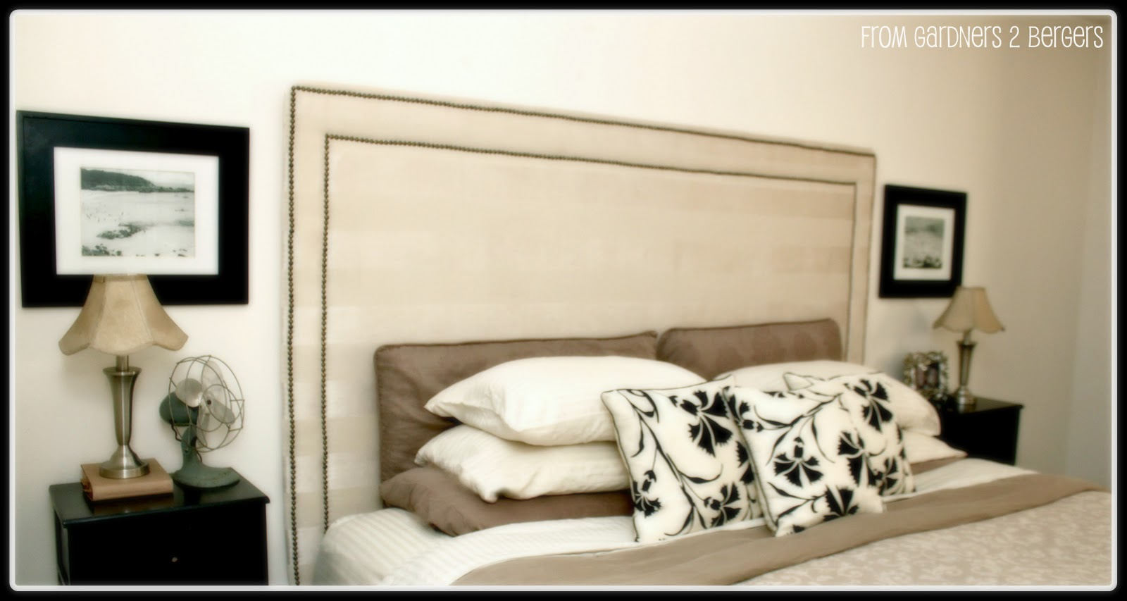 Making An Upholstered Headboard With Nailhead Trim Remodelaholic Upholstered Nail Head Trim Headboard Tutorial