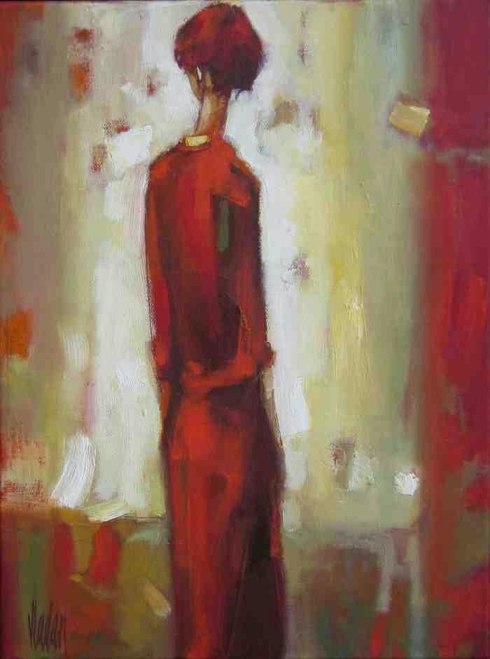 Смесь абстракции и фигуративной живописи. Vladan Ignatovic