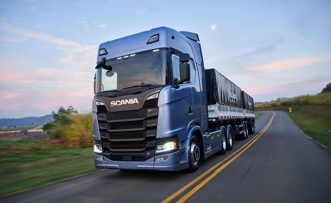 Nova Geração Scania economiza 160 milhões de litros de diesel em dois anos no Brasil