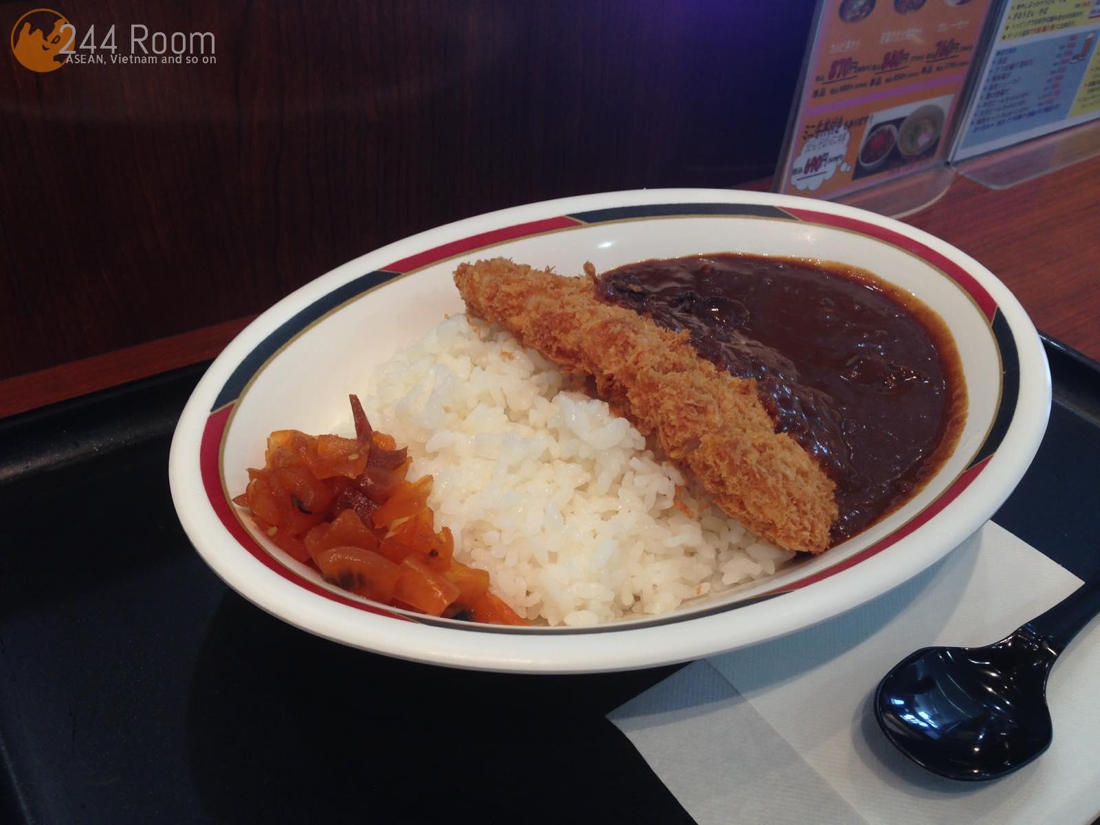 福岡空港フラップキッチンのカツカレー