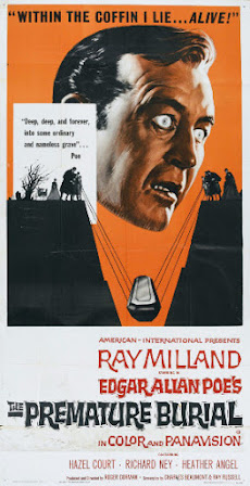 Poster - The Premature Burial (1962)