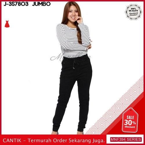 MNF394J76 Jeans 357803 Wanita Jumbo Xxl Jegging Denim 2019 BMGShop
