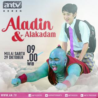 Daftar Nama dan Biodata Pemain Aladin dan Alakadam ANTV